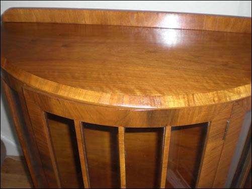 Restoration of Display Cabinet